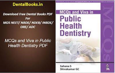 MCQs and Viva in Public Health Dentistry PDF