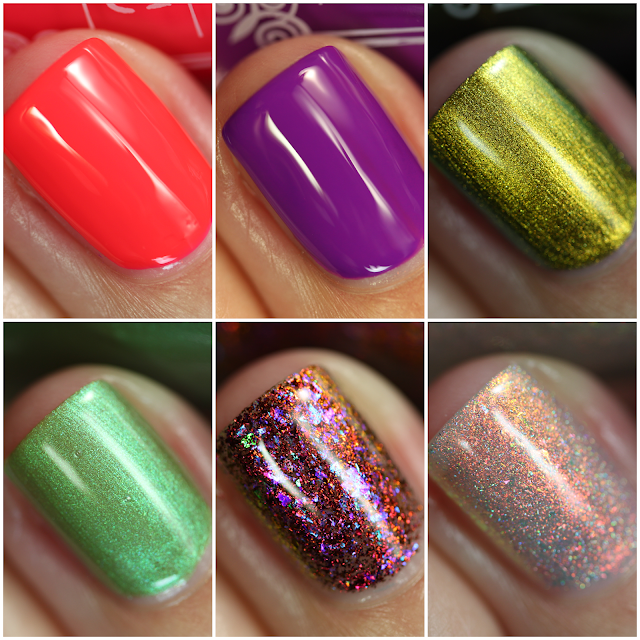 Tonic Nail Polish Late Summer 2020 Collection swatches