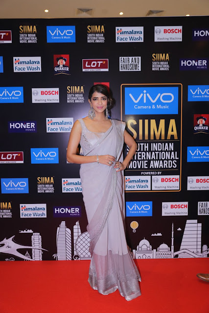 Manchu lakshmi on the red carpet at SIIMA Awards Day 1