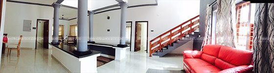 Interior design of the house