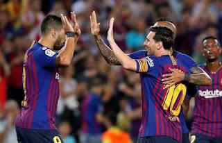 نتيجة مباراة برشلونة وريال مدريد اليوم في الدوري الاسباني