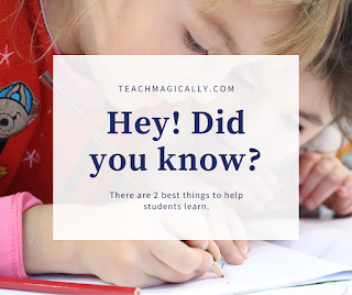 Teach Magically 2 Best Strategies to help Students Learn Kids Looking at writing