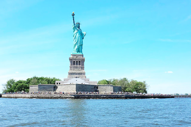 Statue of Liberty - The symbol of New York City.