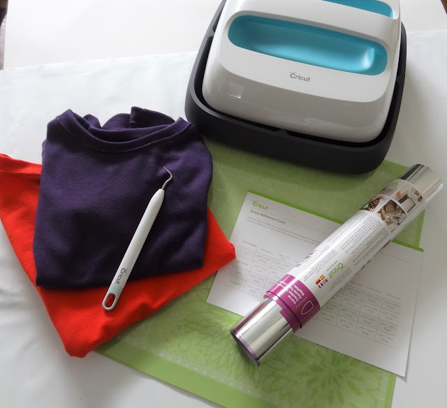 Cricut Easy Press and tools
