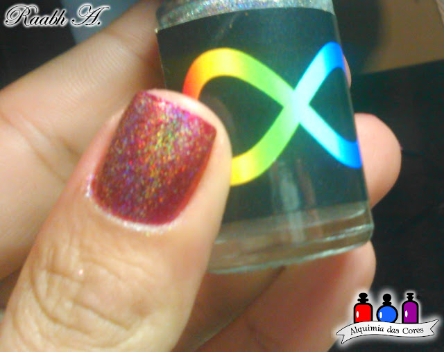 Metálico, Holográfico, Miss Conduct, Cobertura holográfica, DRK Nails, Rock It, Orly Mineral FX, Orly Nail Polish