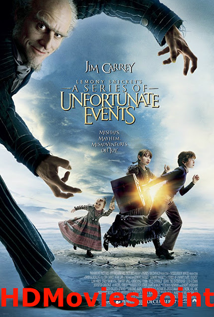 Poster A Series of Unfortunate Events 2004 Full Movie Download Hindi 720p