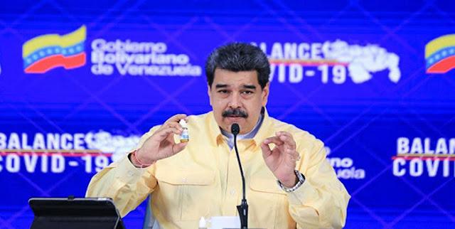 MADURO: «LA CEPA DELTA LLEGÓ POR EL AEROPUERTO DE MAIQUETÍA»