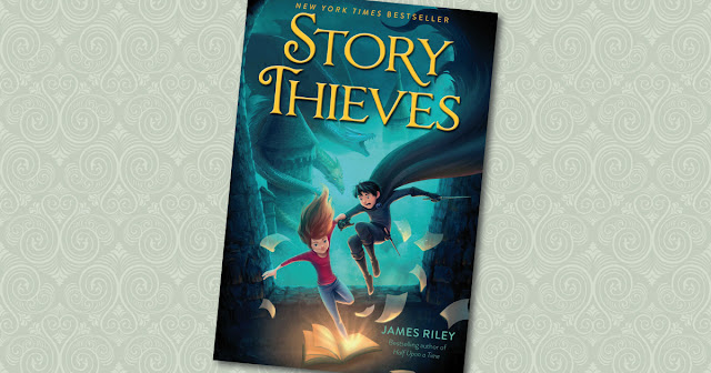 Story Thieves Cover James Riley