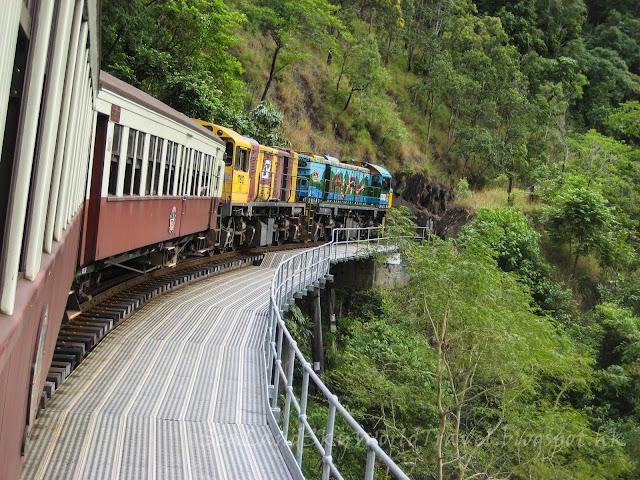 庫蘭達火車纜車 Kuranda Scenic Rail