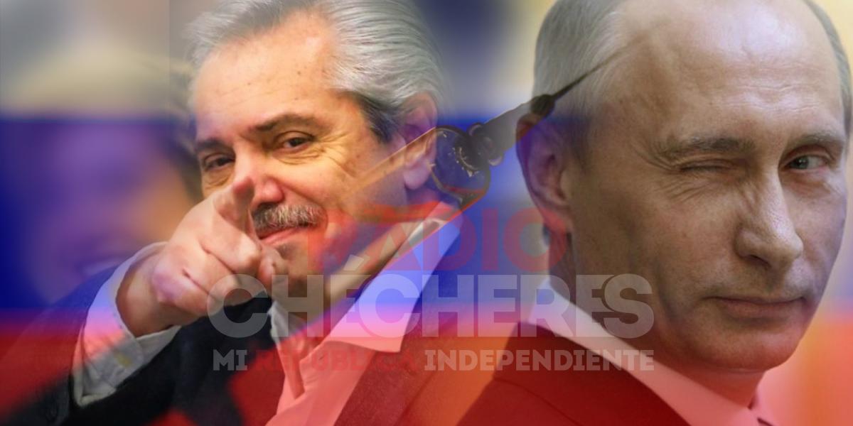 """""""Sentimiento de esperanza"""": Fernández felicita a Putin por vacuna rusa contra el #coronavirus"""