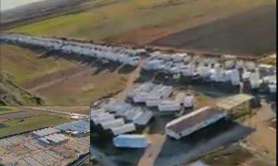 """Μια πόλη για 12.000 παράνομα εισελθόντες δημιουργήθηκε έξω από το Κιλκίς """"στα μουλωχτά"""" - Δείτε το βίντεο ντοκουμέντο που αποκρύπτουν τα συστημικά ΜΜΕ"""