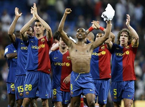 برشلونة وريال مدريد 6-2