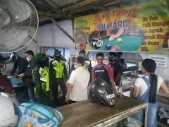 Antisipasi Virus Corona, Patroli Gabungan TNI – Polri Dan Satpol PP Batang Sasar Kerumunan Warga