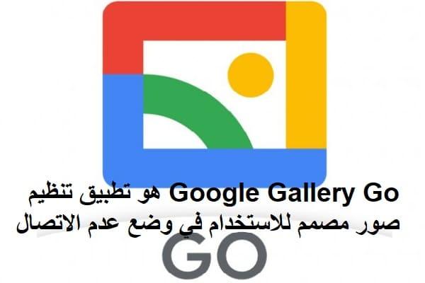 Google Gallery Go هو تطبيق تنظيم صور مصمم للاستخدام في وضع عدم الاتصال