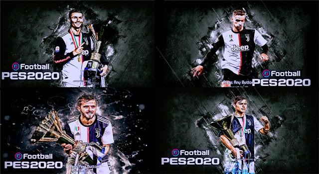 Start Screen Juventus Pack 2019 PES 2013