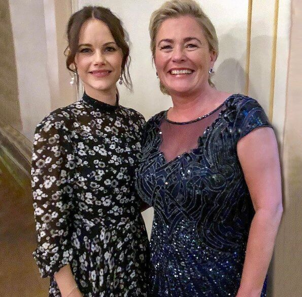 Princess Sofia wore a new dress by Ida Sjostedt. Princess Sofia wore Ida-Sjöstedt Meadow dress at the Project Playground Fundraiser Dinner