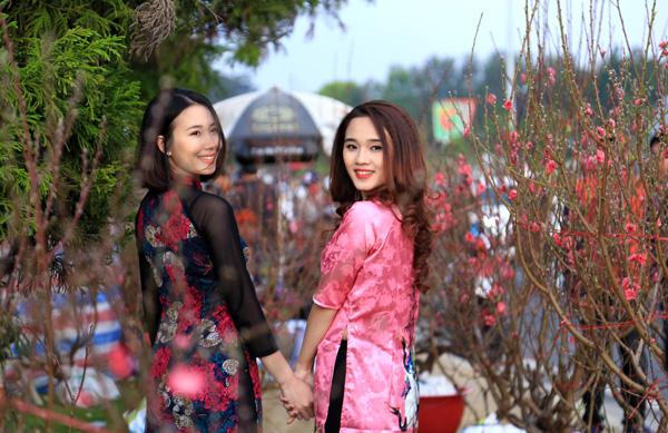 Chợ hoa Xuân Đà Lạt rộn ràng trong những ngày giáp Tết