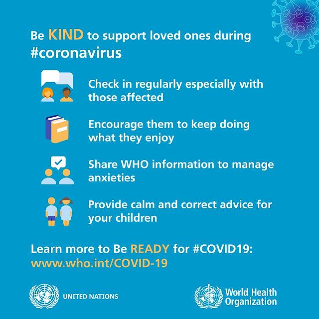 WHO directive for coronavirus @doibeoduin