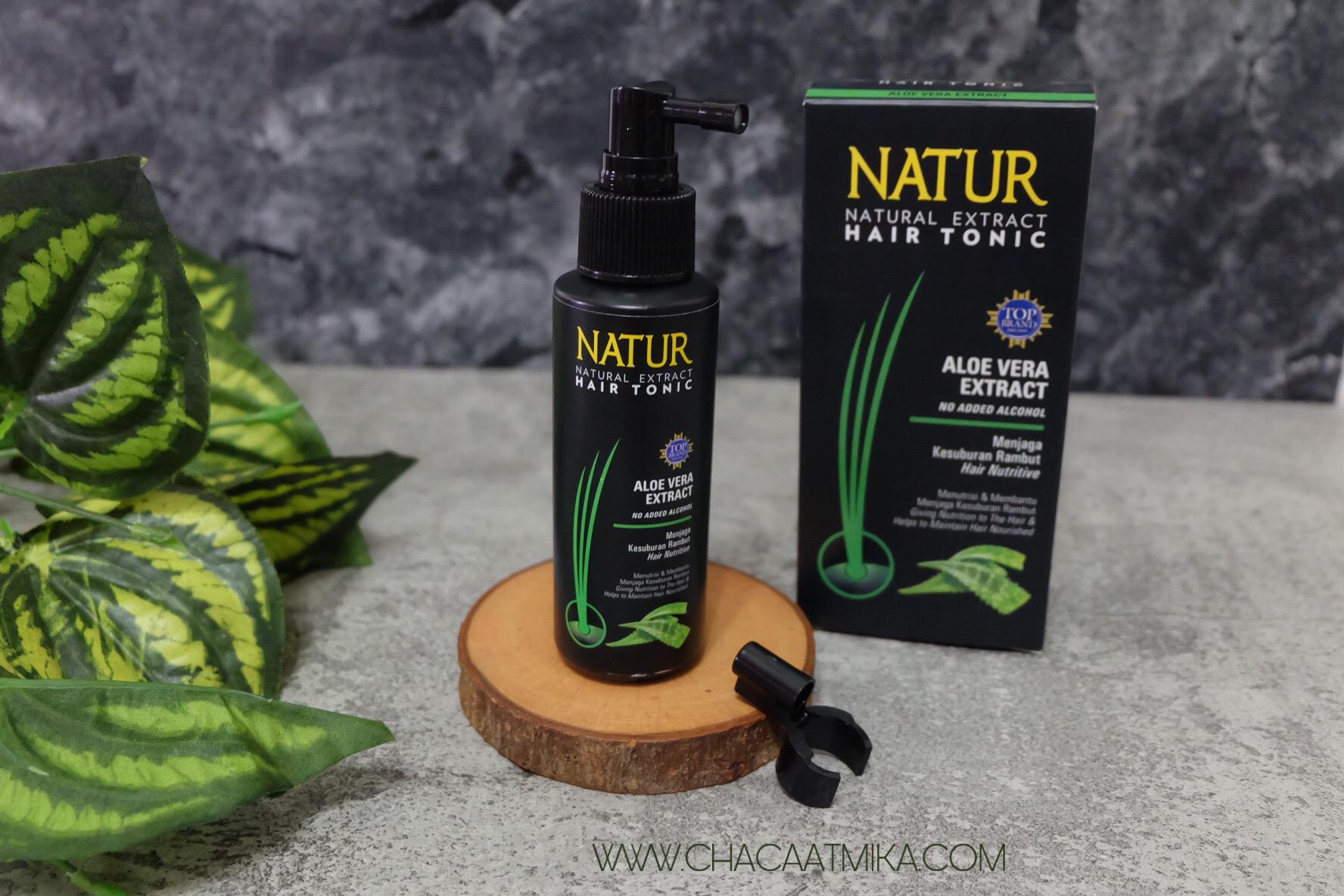 Fungsi NATUR Hair Tonic Aloe Vera