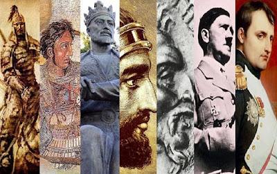 Do jeitinho que a coisa vai, breve só haverá estátuas de quadrúpedes no mundo; muares em especial. Olhar o ontem com olhos de hoje, é o mesmo que ver o amanhã com olhos de ontem. Todos os grandes heróis da humanidade são, via de regra, assassinos em massa. Alexandre, Júlio Cesar, Napoleão... As exceções são raras é só confirmam o dito. Ah, mas se não forem europeus, os grandes conquistadores deixam de ser heróis e passam a ser apenas cruéis assassinos. Gêngis Khan, Átila, Tarmelão... Os hunos, por exemplo, não tinham tropas, como os europeus, mas hordas de bárbaros.