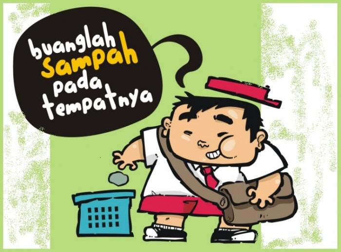 slogan kebersihan lingkungan