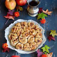 Rolinhos de maçã e canela sem glúten