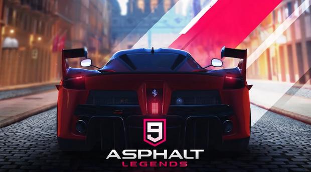 تحميل لعبة Asphalt 9 للكمبيوتر ويندوز 10 مهكرة