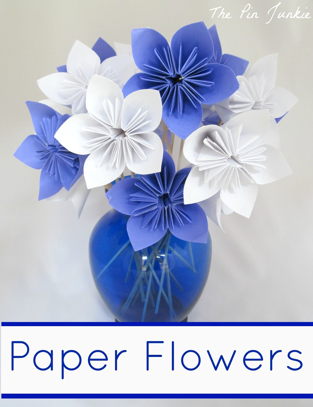 How To Make Paper Bluebonnets