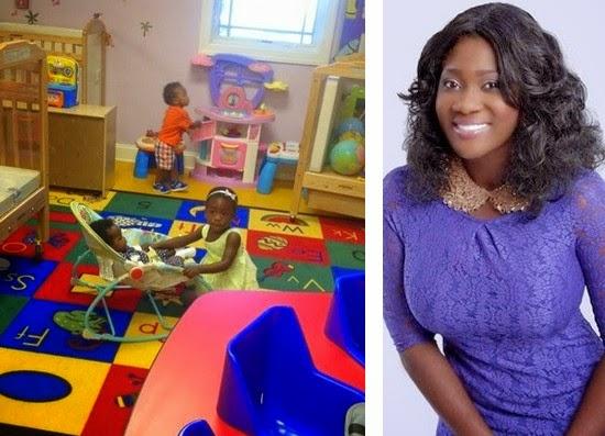 mercy johnson daughter school