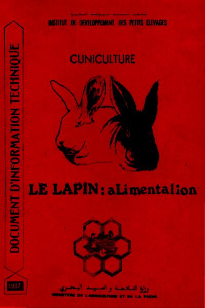 Alimentation du lapin - WWW.VETBOOKSTORE.COM