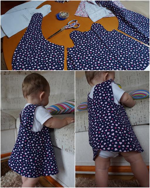 sukienka niemowlę