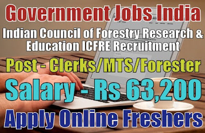 ICFRE Recruitment 2018