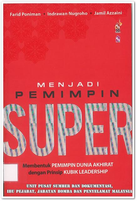 Sipnosis Buku : Menjadi Pemimpin Super