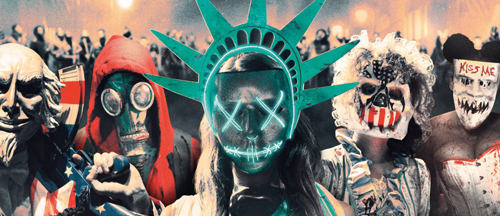 The Purge Election Year Poster Wallpapers: New THE PURGE: ELECTION YEAR Trailer And 7 Posters