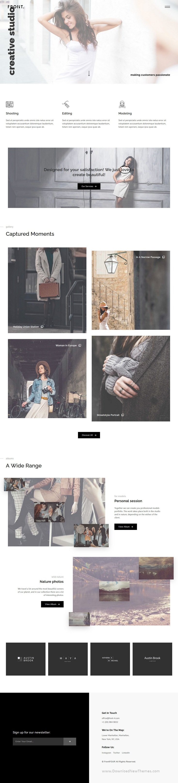 Creative Photography Template Kit