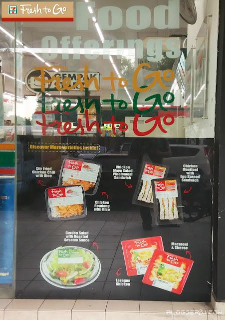 Fresh To Go Santapan Mudah Dan Segar Setiap Hari Di 7-ELEVEN