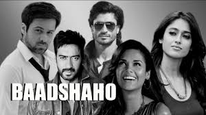 Ajay Devgn, Emraan Hashmi, Esha Gupta and Ileana D Cruz New Upcoming movie Baadshaho poster, release date 2017