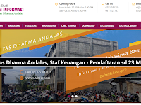 Dibutuhkan Bagian Administrasi Keuangan - Unidha Simpang Haru Padang sd 23 Maret 2019