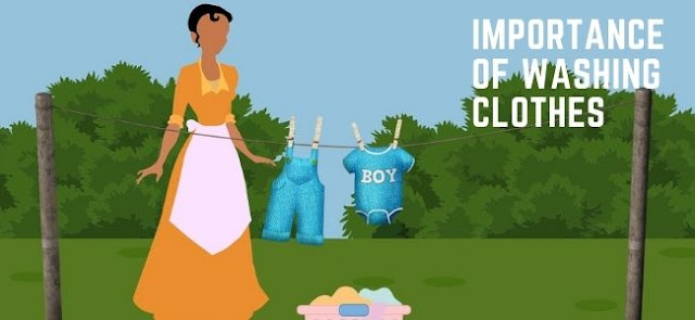 Importance of Washing Clothes