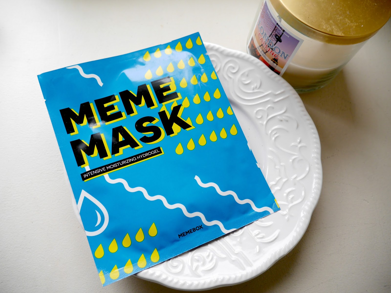 Memebox Intensive Moisturizing Hydrogel Mask review