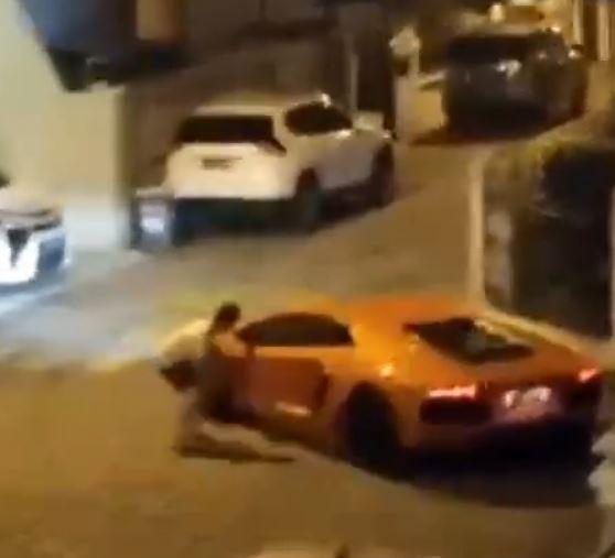 Video Viral, Lamborghini Geber Mesin Tengah Malam di Komplek Perumahan