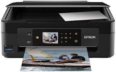Claria home ink technology produces crisp Epson Expression Home XP-412 Driver Downloads