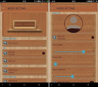 Updates BBM New Wood Theme Apk 2.13.1.14 + Wave DP