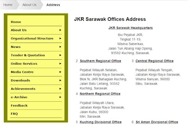 Rasmi - Jawatan Kosong (JKR Sarawak) Jabatan Kerja Raya Sarawak Terkini 2019