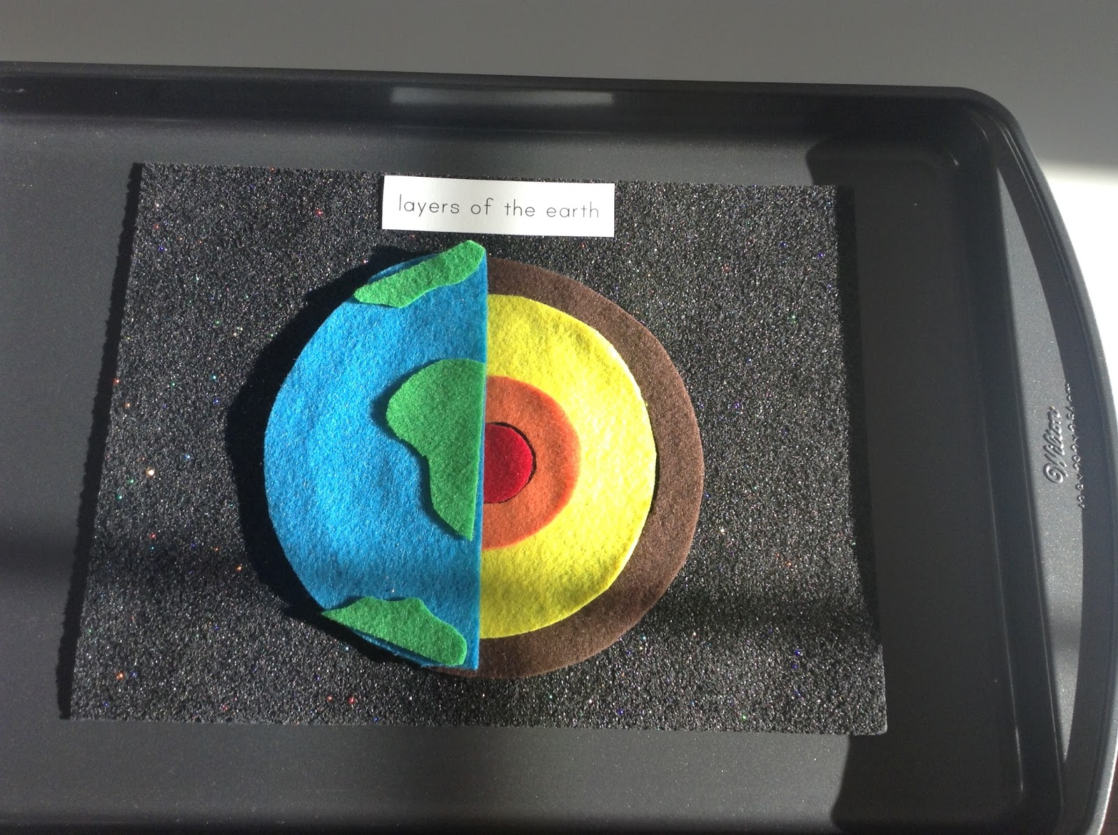 Teachermomplus3 Layers Of The Earth Felt