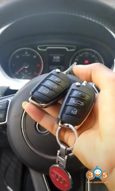OBDSTAR X300 Pro4 Program Audi Q3 2013 Key 1