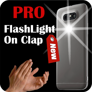 The best free android app Flashlight on Clap PRO