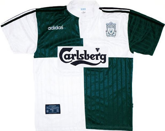 online retailer f6ba7 53006 LEAKED: Liverpool 17-18 Away Kit To Be White / Green ...