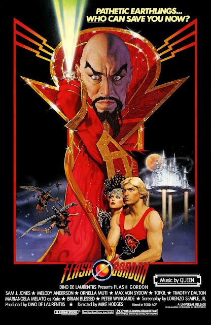 Póster película Flash Gordon