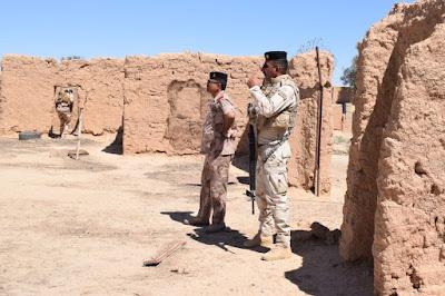 الاستخبارات العسكرية وقوات مشتركة تقتحم وكرين لعصابات داعش الإرهابية في ديالى